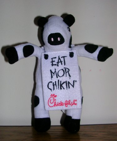 Eat Mor Chikin© Plush Toy from Chickfil-A, Price Includes S&H
