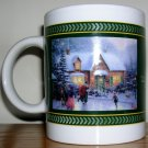 Thomas Kinkade 2003 Skater's Pond Coffee Mug, Price Includes S&H