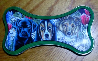 """Paw Prints Tin Stitchworks� """"Tin Collectibles"""", Price Includes S&H"""
