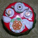 A Cup Of Christmas Tea Hinged Treasure Box, Price Includes S&H
