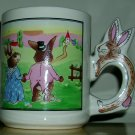 Artmark Rabbits Mug, Price Includes S&H