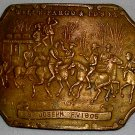 Wells Fargo Belt Buckle St. Joseph, Price Includes S&H