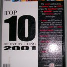 Top 10 of Everything 2001 First American Edition, Price Includes S&H