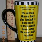 Why Women Don't Play Football, Price Includes S&H