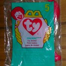 McDonald's Ty Teenie Beanie Babies--1998 #5-- Pinchers the Lobster, Price Includes S&H