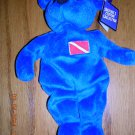 """Salvino's Custom Collection Diving Blue Bear Devon """"The Sport Diver"""", Price Includes S&H"""
