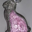 Vintage J. H. Millstein Co. Glass Easter Bunny, Price Includes S&H