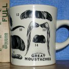 Great Moustaches Coffee Mug--Guess The Famous Moustache, Price Includes S&H