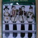 Debbie Mumm Snowman Spreaders, Price Includes S&H