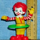 Ronald McDonald Hula Hooping Happy Meal Toy, Price Includes S&H