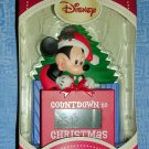 Hallmark Disney Mickey Mouse Countdown to Christmas Ornament, Price Includes S&H