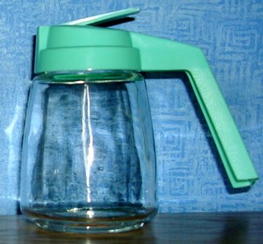 Vintage Federal Housewares Syrup  Dispenser--Turquoise, Price Includes S&H