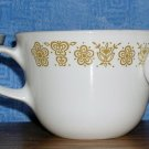 Corelle Livingware by Corning Butterfly Gold Closed Handle Mugs--Set of 3, Price Includes S&H