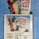"Charming Tails by Fitz & Floyd:  ""MacKenzie's Wish List"" Figurine, Price Includes S&H"
