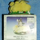 "Charming Tails by Fitz & Floyd:  ""Don't Make a Peep"" Figurine, Price Includes S&H"