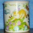 Potpourri Designs Garden Kittens Mug--Copyright 1995, Price Includes S&H