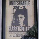 Harry Potter Undesirable No.1 Sign Wall Hanging, Price Includes S&H