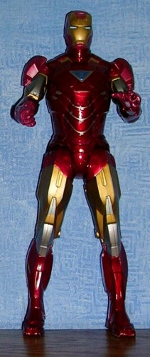 """2010 Repulsor Power Iron Man Mark VI Action Figure by Hasbro Toys--10 1/2"""", Price Includes S&H"""