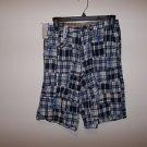 Boy's blue Plaid Shorts by Company 81, Size 12 reg.