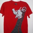 GWP Sports, Boys Red Graphic Art Tee, Size XL (14/16)