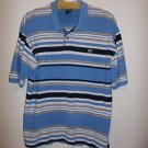 ECKO UNLTD. Men polo style striped Shirt, Size XL