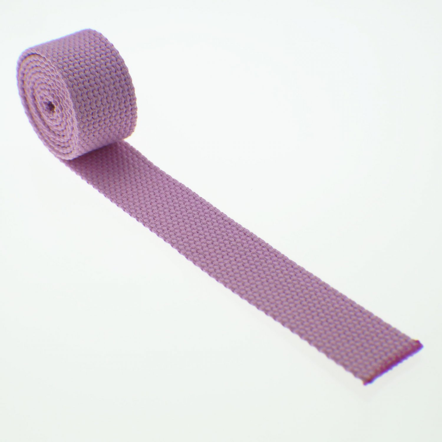 "1 Yard Light Pink 100% Cotton Webbing - 1 Inch (1"") Heavy Duty"