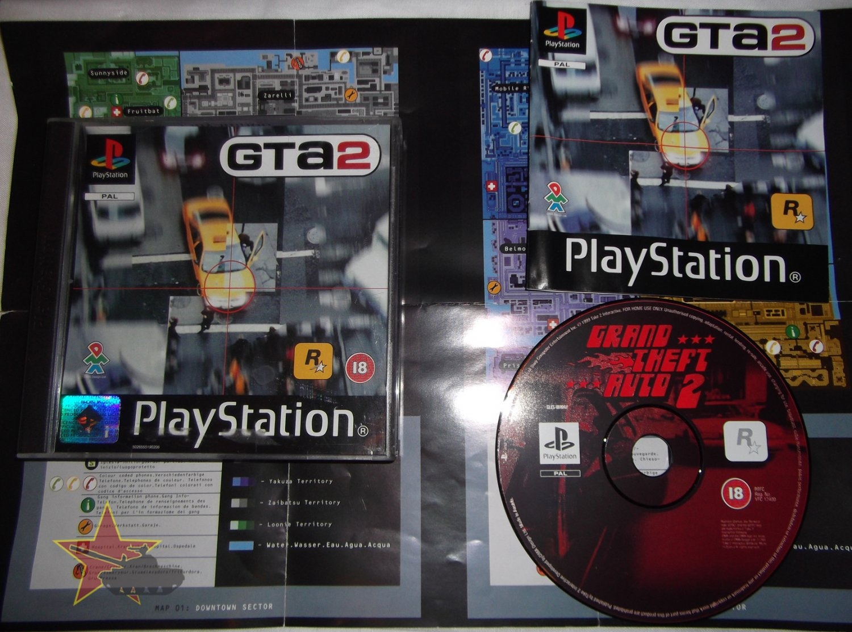 Grand Theft Auto 2 (GTA2) - UK PAL PS1 - CIB