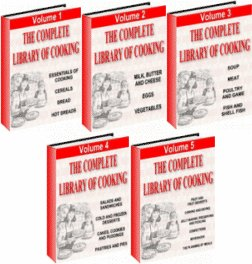 THE COMPLETE LIBRARY OF COOKING ON 1 CD