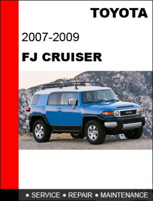 toyota fj cruiser service manual
