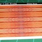 Zebra Wood Decal Sheet 1:25 Scale