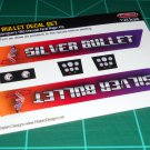 Silver Bullet Decal Set