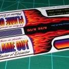 Flame Out Decal Set