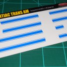 1969 Pontiac Trans Am Decal Set Blue