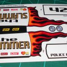 The Slammer Decal Set