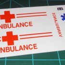 Vanbulance Decal Set Orange