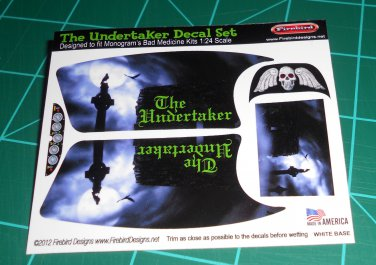 The Undertaker Decal Set Blue