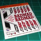 Badmad 55' Nomad Decal Set A