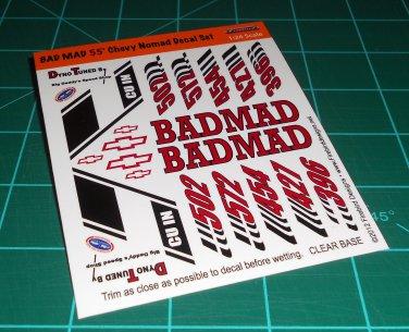 Badmad 55' Nomad Decal Set A
