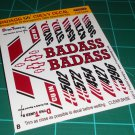 Badass 55' Decal Set B
