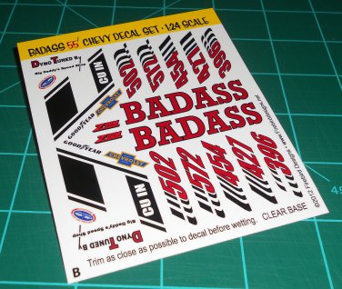 Badass 55' Decal Set A