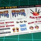 Absolute Pyscho Decal Set for 41 Willys