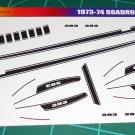 1973-74 Plymouth Roadrunner 383-Black