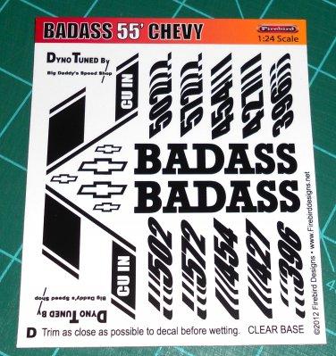 Badass 55' Decal Set D