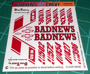 Badnews 55' Decal Set C