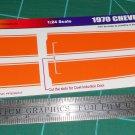 1970 Chevelle SS - Orange