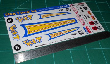 Trick T Decal Set C 1:24 Scale