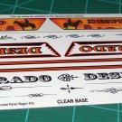 Desperado 1960 Chevy Panel Decal Set 1:24 Scale
