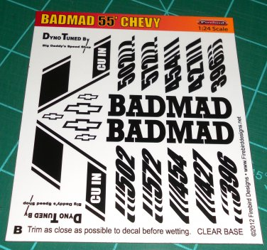 BadMad 55' Nomad Decal Set B