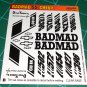 BadMad 55' Nomad Decal Set B