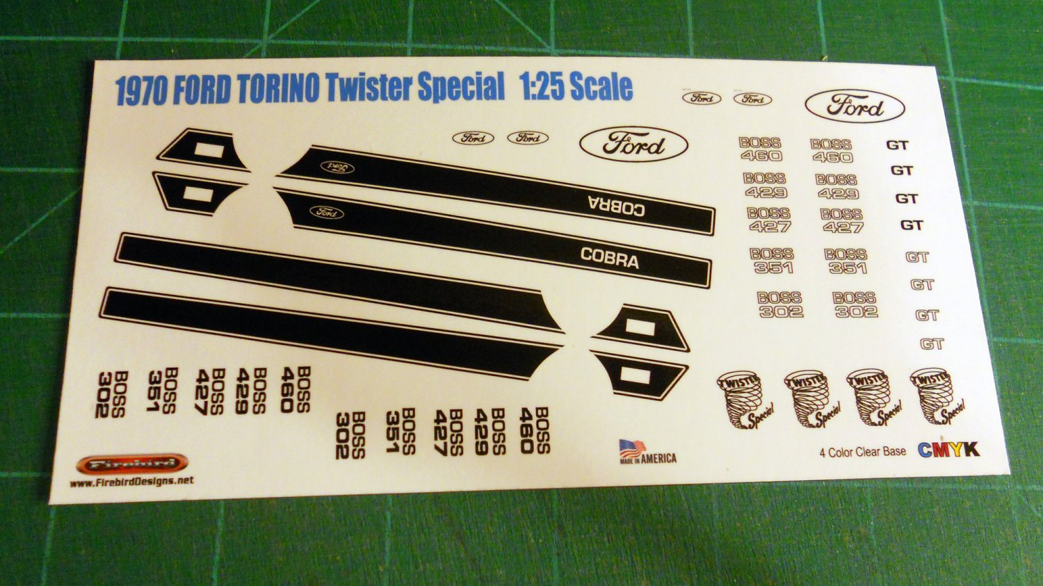New Ford Torino >> 1970 Ford Torino Twister Special 1:25 Scale